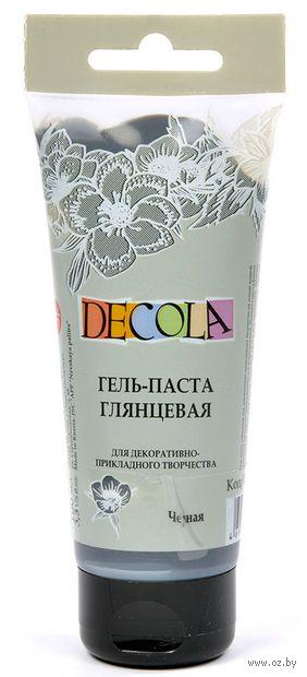 """Гель-паста """"Decola"""" (черная; 100 мл) — фото, картинка"""