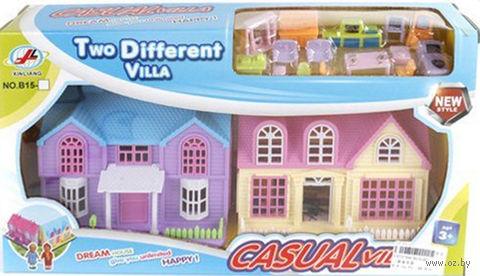 Дом для кукол с набором мебели (арт. B15A) — фото, картинка