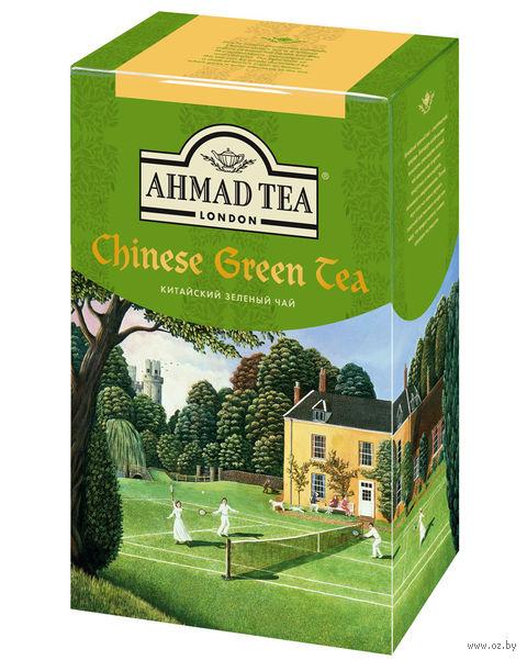 """Чай зеленый листовой """"Ahmad Tea. Китайский"""" (100 г) — фото, картинка"""