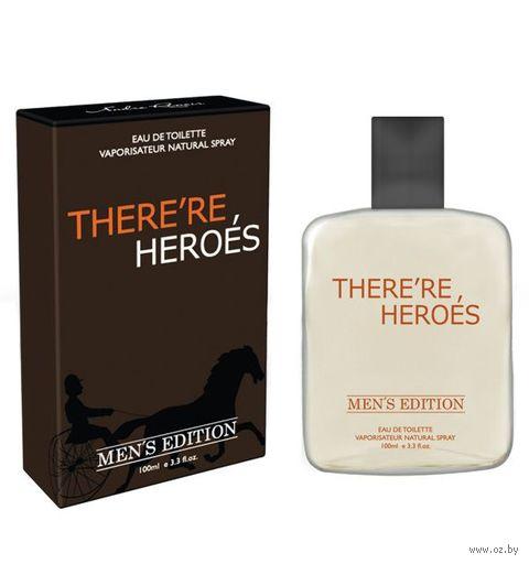 """Туалетная вода для мужчин """"There're Heroes"""" (100 мл) — фото, картинка"""