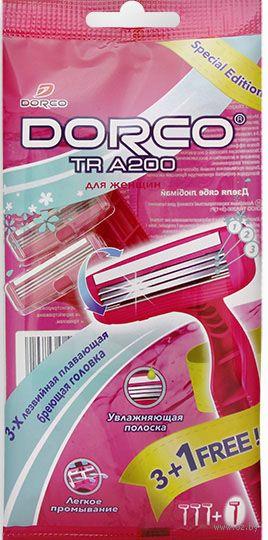 """Станок для бритья одноразовый """"TRA 200W"""" (4 шт.) — фото, картинка"""