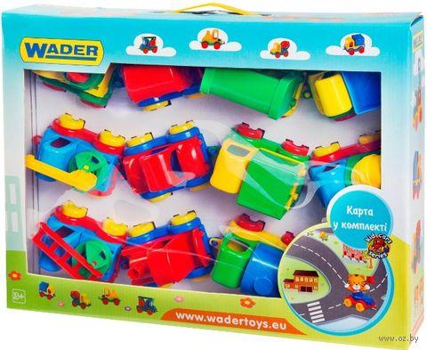 """Набор машинок """"Kid Cars"""" (12 шт.) — фото, картинка"""