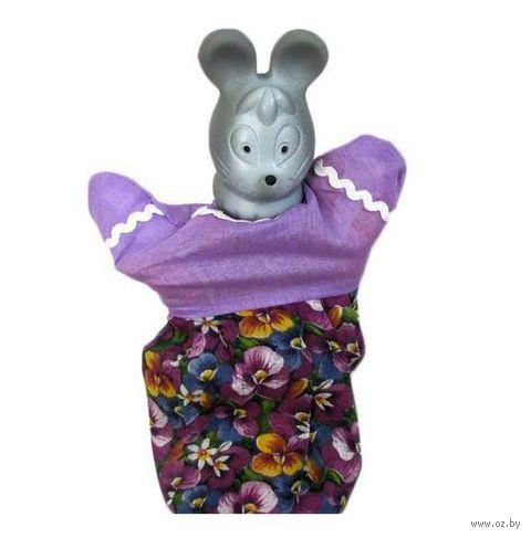 """Мягкая игрушка на руку """"Мышка"""" (25 см)"""