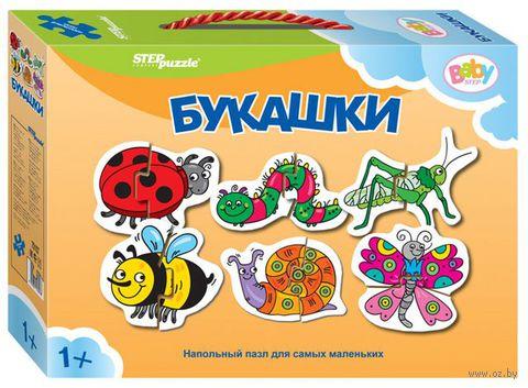 """Пазл напольный """"Букашки"""" (12 элементов)"""