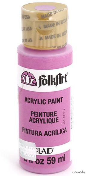"""Краска акриловая """"FolkArt. Acrylic Paint"""" (светлая фуксия; 59 мл; арт. PLD-00688) — фото, картинка"""