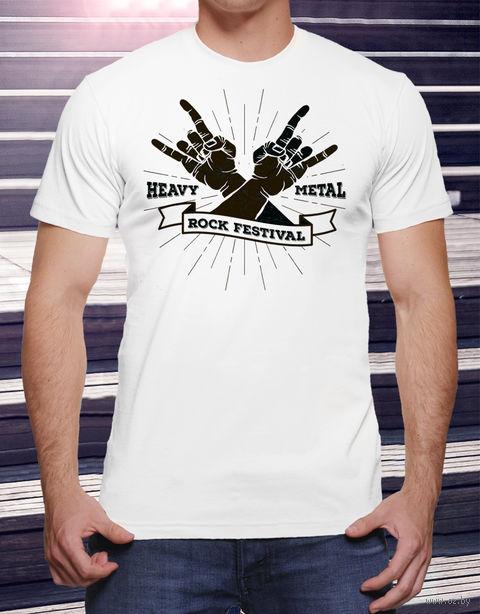 "Футболка мужская ""Heavy Metal"" 46 (art. 16)"