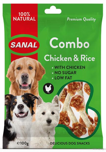 "Лакомство для собак ""Combo Chicken and Rice"" (100 г) — фото, картинка"