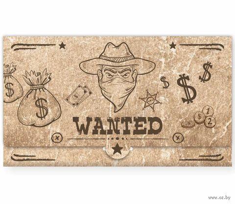 "Конверт для денег ""Wanted"" — фото, картинка"