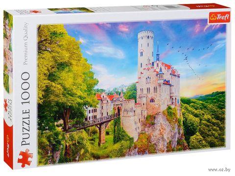 "Пазл ""Замок Лихтенштейн. Германия"" (1000 элементов) — фото, картинка"