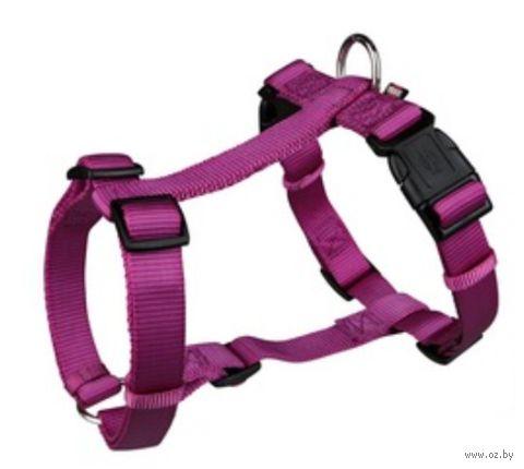 "Шлея для собак ""Premium H-harness"" (размер S-M, 40-65 см, малиновый, арт. 20338)"
