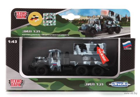 """Модель машины """"ЗИЛ 131. Вооруженные силы"""" (масштаб: 1/43; арт. CT10-001-M-3)"""