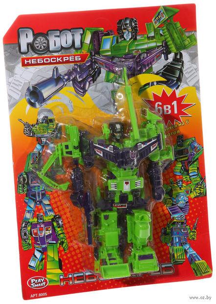 """Робот-трансформер """"Небоскреб. 6 в 1"""" (арт. Л22501)"""