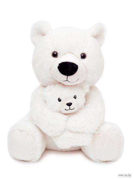 """Мягкая игрушка """"Мишка с малышом"""" (28 см; арт. M2009428B) — фото, картинка"""