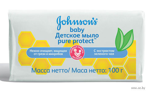 "Мыло детское ""Pure Protect"" (100 г) — фото, картинка"