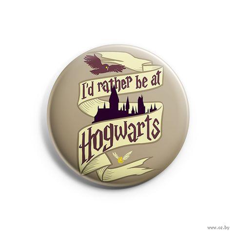 """Значок маленький """"Хогвартс"""" (арт. 808) — фото, картинка"""