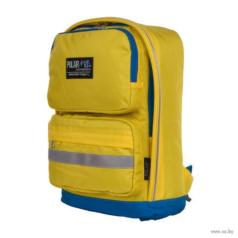 Рюкзак П2303 (жёлто-васильковый) — фото, картинка