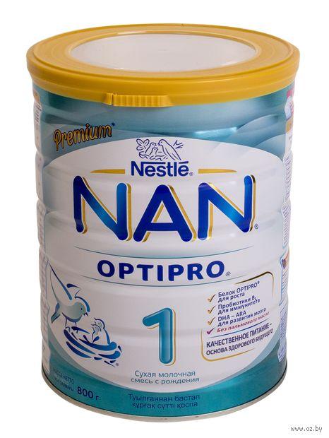 """Сухая молочная смесь NAN 1 OPTIPRO """"Premium"""" (800 г) — фото, картинка"""