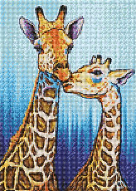"Алмазная вышивка-мозаика ""Поцелуй"" (270х380 мм) — фото, картинка"