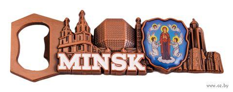 """Открывалка-магнит """"Минск"""" (арт. М046) — фото, картинка"""