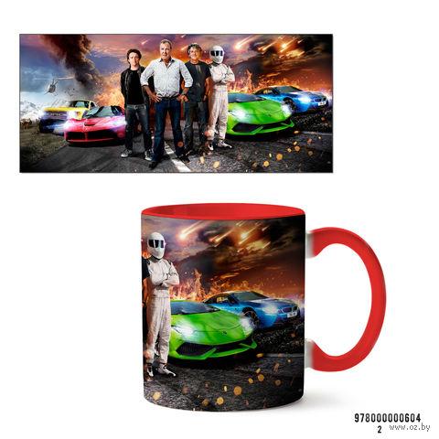 """Кружка """"Top Gear"""" (арт. 604, красная)"""