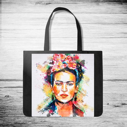 """Сумка-шоппер """"Фрида Кало"""" (арт. 8) — фото, картинка"""