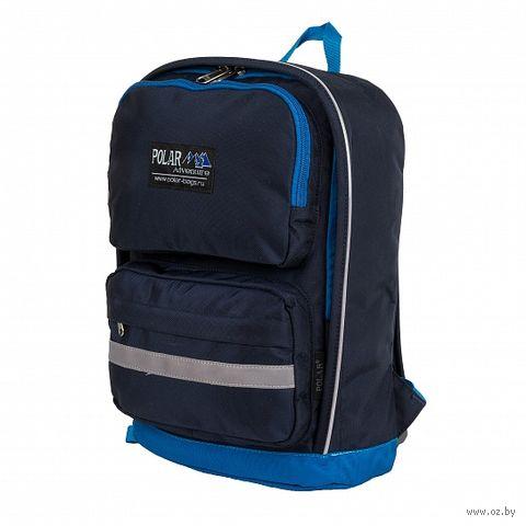 Рюкзак П2303 (сине-васильковый) — фото, картинка