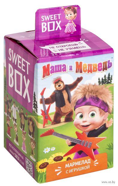 "Мармелад с игрушкой ""Маша и медведь"" (10 г) — фото, картинка"