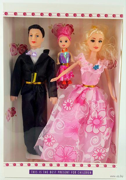 """Набор кукол """"Семья"""" (арт. 169D) — фото, картинка"""