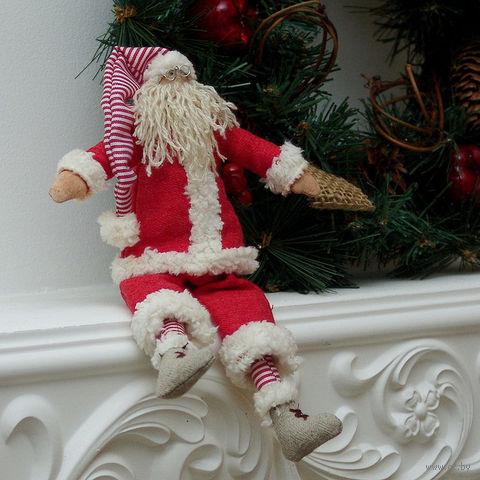 """Кукла ручной работы """"Санта"""" — фото, картинка"""