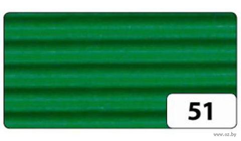 Картон гофрированный (зеленый; 0,5х0,7 м)