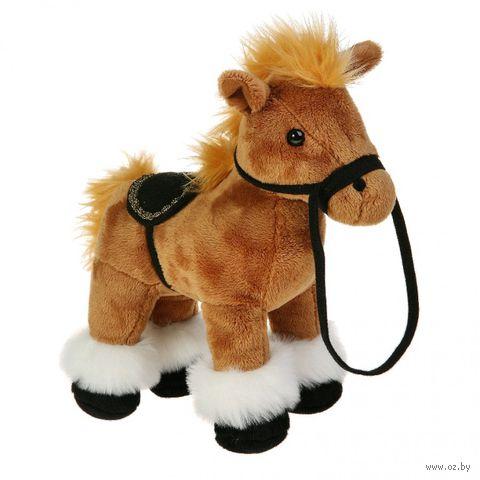 """Мягкая игрушка """"Лошадка коричневая"""""""