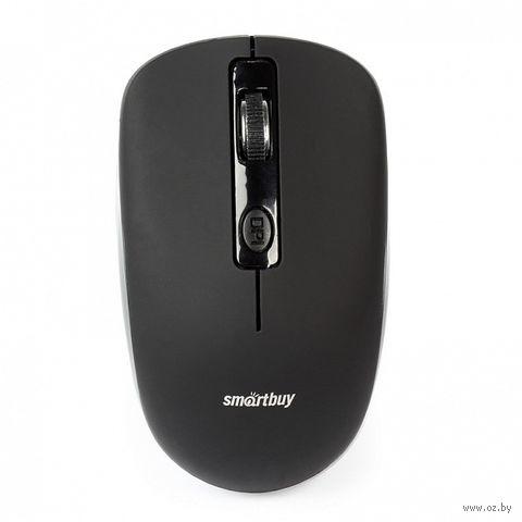Мышь беспроводная Smartbuy ONE 345AG (черная) — фото, картинка