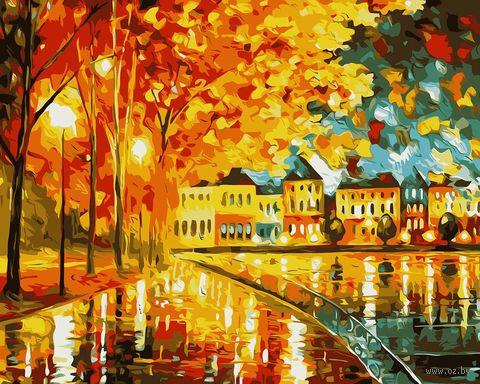 "Картина по номерам ""Осеннее настроение"" (400х500 мм) — фото, картинка"