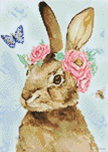 """Алмазная вышивка-мозаика """"Пасхальный кролик"""" (270х380 мм) — фото, картинка"""