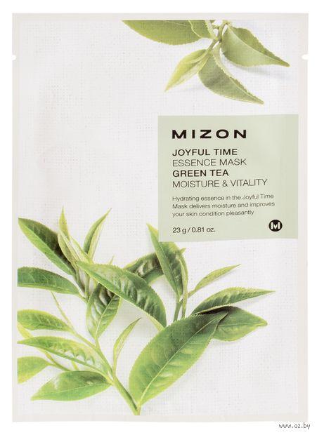 "Тканевая маска для лица ""Green Tea"" (23 г) — фото, картинка"