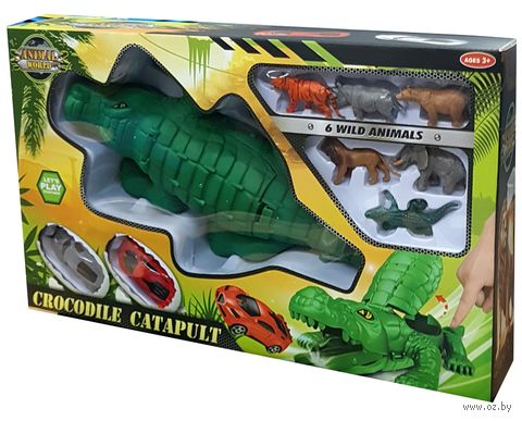 """Игровой набор """"Крокодил-катапульта"""" — фото, картинка"""