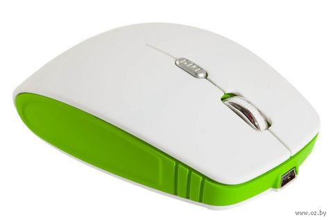 Беспроводная оптическая мышь SmartBuy 336CAG (White/Green)