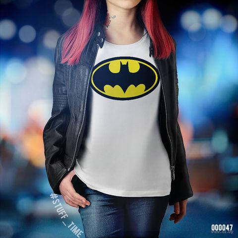 """Футболка женская """"Бэтмен"""" (XL; арт. 047)"""