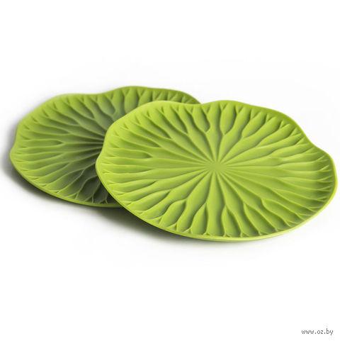 """Подставка для бокалов """"Lotus"""" (2 шт.; зеленый)"""