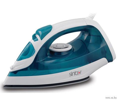 Утюг Sinbo SSI 6617 (синие-белый) — фото, картинка