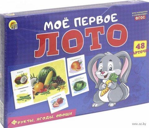 """Лото """"Фрукты, ягоды, овощи"""" — фото, картинка"""