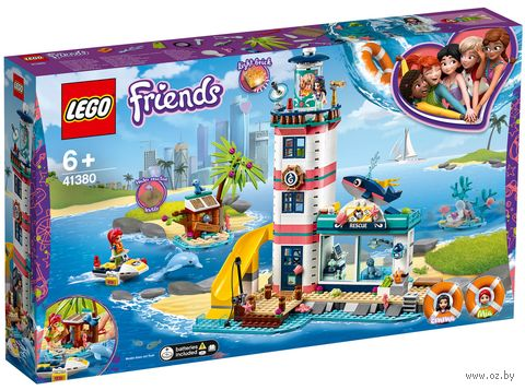 "LEGO Friends ""Спасательный центр на маяке"" — фото, картинка"