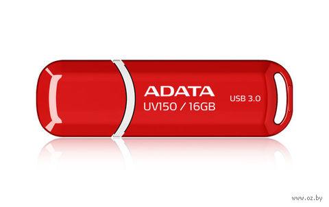 USB Flash Drive 16Gb A-Data UV150 USB 3.0 (Red)