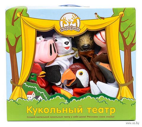 """Кукольный театр """"Обучающая сказка. Домашние животные и птицы"""""""