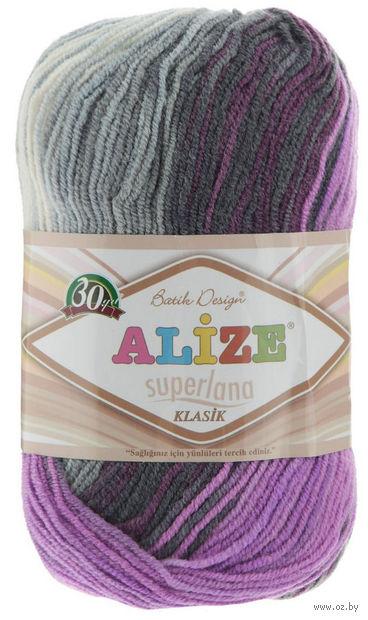 ALIZE. Superlana Klasik Batik №4310 (100 г; 280 м) — фото, картинка