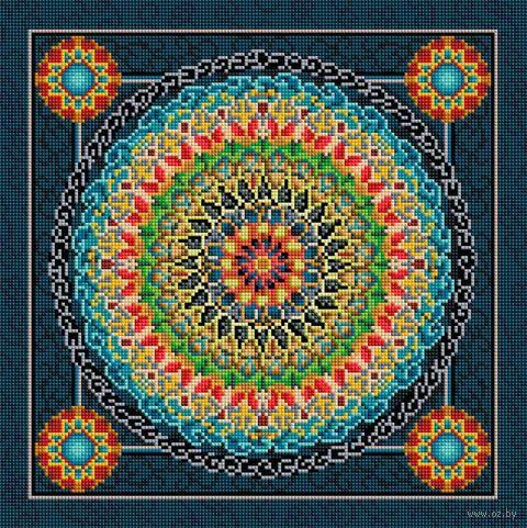"Алмазная вышивка-мозаика ""Сила духа"" (400х400 мм) — фото, картинка"