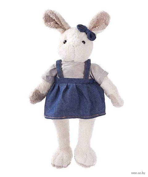 """Мягкая игрушка """"Зайка Мэри в синем"""" (23 см) — фото, картинка"""