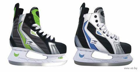 Коньки хоккейные (р. 41; арт. PW-216AE) — фото, картинка