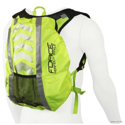 Накидка на рюкзак (48х28 см; салатовая) — фото, картинка