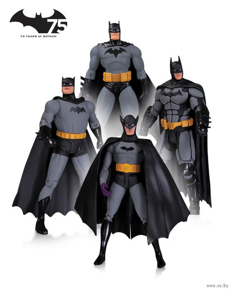 """Набор фигурок """"Бэтмен"""" №1. 4 в 1 (17 см) — фото, картинка"""